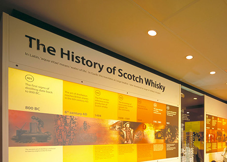 The Scotch Whisky Experience, Edinburgh. Lighting Design: Kate Wilkins Lighting Designers Project Lighting Designers: Kate Wilkins and Karen van Creveld Project Designer: Craig Hatto & Enigma 3D Photograph: © Hatto/Gentilli